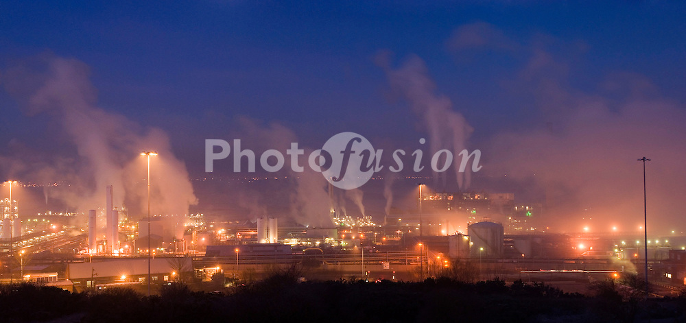 Ineos Chemical Complex on the banks of the River Mersey; River Weaver and Manchester Ship Canal in Runcorn; formerly ICI works of Rocksavage and Castner-Kelner Works which produced fluorocarbons such as aerosol propellants; dry cleaning solvents and chlorine,