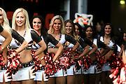 Cincinnati Bengals Cheerleaders during the International Series match between Washington Redskins and Cincinnati Bengals at Wembley Stadium, London, England on 30 October 2016. Photo by Jason Brown.