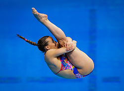 Eventual Gold Medallist Tania Cagnotto of Italy in action during the Womens 1m Springboard Final - Mandatory byline: Rogan Thomson/JMP - 11/05/2016 - DIVING - London Aquatics Centre - Stratford, London, England - LEN European Aquatics Championships 2016 Day 3.