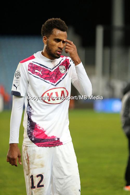 Isaac Kiese THELIN   - 24.01.2015 - Bastia / Bordeaux  - 22eme journee de Ligue1<br /> Photo : Michel Maestracci / Icon Sport *** Local Caption ***