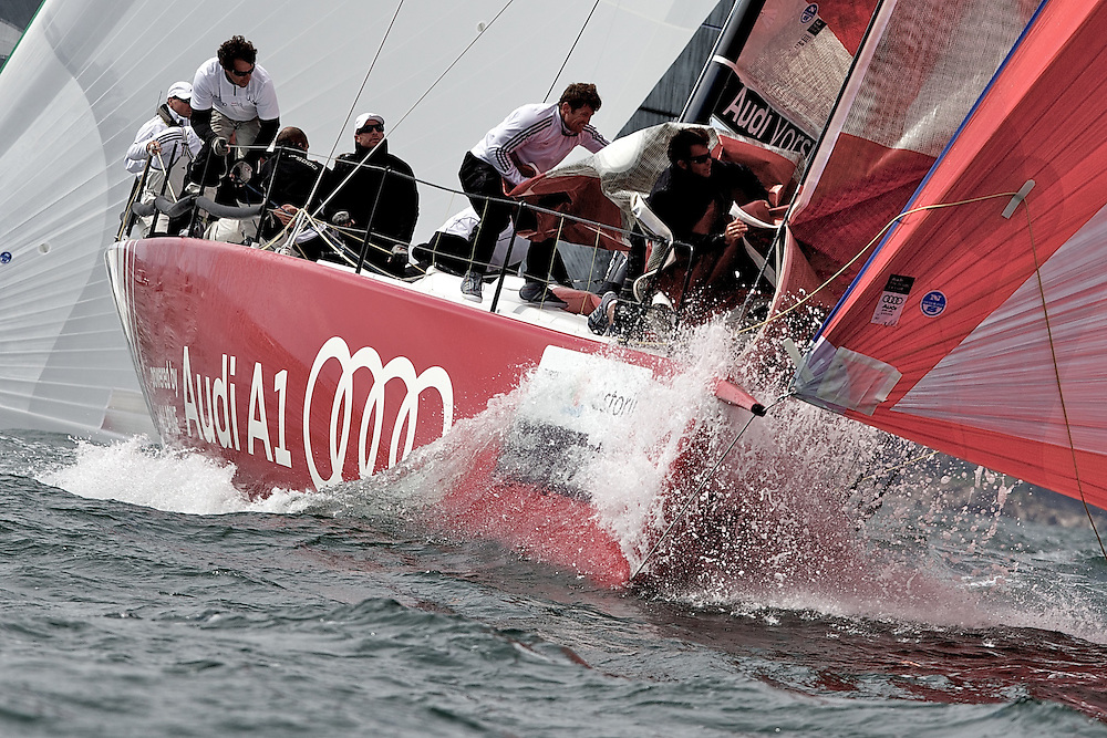 PORTUGAL, Cascais, AUDI MedCup, 12th May 2010,  Portugal Trophy, TP52 Audi A1 Powered by All4one