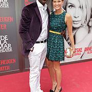 NLD/Amsterdam/20120617 - Premiere Het Geheugen van Water, Iris van der Ende en partner Vincent