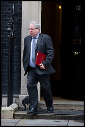 Patrick McLoughlin leaves  No10 Downing Street on Budget day, Wednesday March 20, 2013 Photo By Andrew Parsons / i-Images