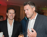BRENDAN COLE; DAN LOBB, English National Ballet's celebrates their Christmas season at the London Coliseum,  St Martins Lane hotel. London. 13 December 2012.