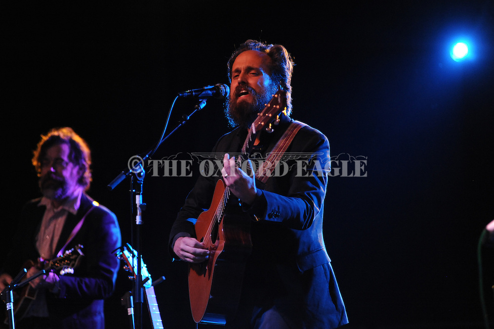 Iron & WIne plays at the Double Decker Arts Festival in Oxford, Miss. on Friday, April 27, 2012.