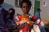 """arrival of new immigrants from Ethiopia, """"Falashmuras"""": Christians converted to Judaism  givaat amatos, Jerusalem  Israel     /// arrivee de nouveau amigrants  """"Falashmuras"""" d'Etiopie   givaat amatos, Jerusalem  Israel Chretiens  du Gundar en cours de conversion au judaisme descendant de la tribu de Dan  /// R00287/    L004319  /  P0007202"""