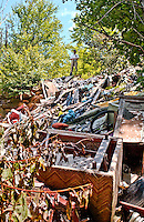 forest dump, pennsylvania, waste, state forest, garbage, post industrial