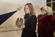VICTORIA GOLEMBIOUSHAYA; KARINA GULYAVA, Private View of Pavel Pepperstein,  Pace  London, 6-10 Lexington Street,10 February 2014
