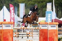 Houwen Kristian, (NED), Drop Shot Vm<br /> Isah Cup 7 Jarige springpaarden <br /> KWPN Kampioenschappen Ermelo 2015<br /> © Hippo Foto - Dirk Caremans