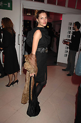 SARA BRAJOVIC at the Art Plus Drama party Held at the Whitechapel Art Gallery, London E1 on 8th March 2007. <br /><br />NON EXCLUSIVE - WORLD RIGHTS