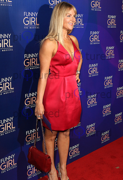 Sarah Hadland, Funny Girl - Opening Night, Savoy Theatre, London UK, 21 April 2016, Photo by Brett D. Cove