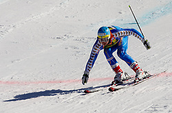 Matts Olsson of Sweden during 2nd Rund of Men's Giant Slalom of FIS Ski World Cup Alpine Kranjska Gora, on March 5, 2011 in Vitranc/Podkoren, Kranjska Gora, Slovenia.  (Photo By Vid Ponikvar / Sportida.com)