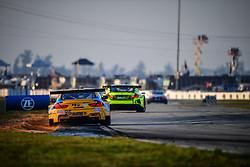 March 15, 2019 - Sebring, UNITED STATES OF AMERICA - 96 TURNER MOTORSPORT (USA) BMW M6 GT3 GTD BILL AUBERLEN (USA) ROBBY FOLEY (USA) DILLON MACHAVERN  (Credit Image: © Panoramic via ZUMA Press)