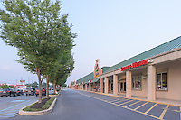 Exterior photo of Windsor Park Shpping Center in Mecanicsburg Pennsylvania by Jeffrey Sauers of Commercial Photographics, Architectural Photo Artistry in Washington DC, Virginia to Florida and PA to New England