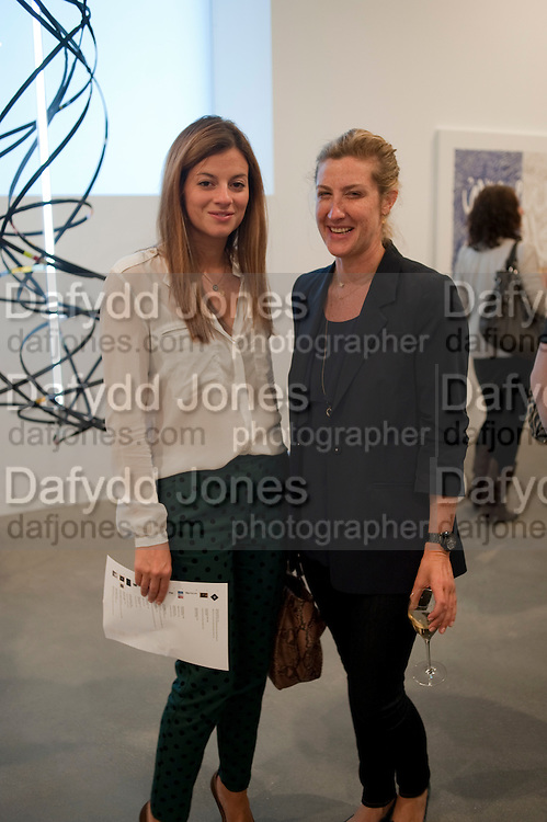 SERENA NIKKAH; GEORGINA COHEN; , Artists for Women for Women International, A PRIVATE VIEW AND LAUNCH RECEPTION OF LEADING CONTEMPORARY ARTISTS WHO HAVE DONATED WORKS TO BE AUCTIONED AT CHRISTIE&Otilde;S POST-WAR AND CONTEMPORARY SALE TO BENEFIT WOMEN FOR WOMEN INTERNATIONAL. Gagosian Gallery. Britannia St. London. 27 September 2011. <br /> <br />  , -DO NOT ARCHIVE-&copy; Copyright Photograph by Dafydd Jones. 248 Clapham Rd. London SW9 0PZ. Tel 0207 820 0771. www.dafjones.com.<br /> SERENA NIKKAH; GEORGINA COHEN; , Artists for Women for Women International, A PRIVATE VIEW AND LAUNCH RECEPTION OF LEADING CONTEMPORARY ARTISTS WHO HAVE DONATED WORKS TO BE AUCTIONED AT CHRISTIE&rsquo;S POST-WAR AND CONTEMPORARY SALE TO BENEFIT WOMEN FOR WOMEN INTERNATIONAL. Gagosian Gallery. Britannia St. London. 27 September 2011. <br /> <br />  , -DO NOT ARCHIVE-&copy; Copyright Photograph by Dafydd Jones. 248 Clapham Rd. London SW9 0PZ. Tel 0207 820 0771. www.dafjones.com.