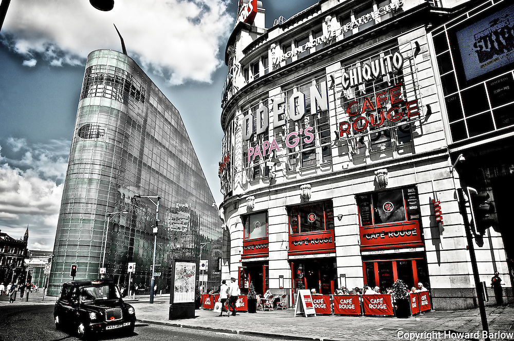 MANCHESTER  SCENES - PRINTWORKS and URBIS buildings Manchester