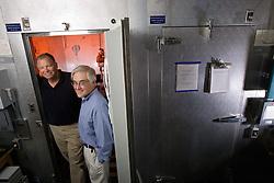 Stanford's Craig Heller and Dennis Grahn, designers of RTX cooling system
