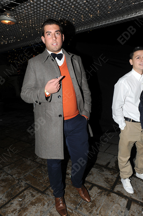 09.DECEMBER.2012. LONDON<br /> <br /> JAMES ARGENT AT THE X-FACTOR FINAL AFTERPARTY AT BIJOUS NIGHT CLUB IN MANCHESTER.<br /> <br /> BYLINE: EDBIMAGEARCHIVE.CO.UK<br /> <br /> *THIS IMAGE IS STRICTLY FOR UK NEWSPAPERS AND MAGAZINES ONLY*<br /> *FOR WORLD WIDE SALES AND WEB USE PLEASE CONTACT EDBIMAGEARCHIVE - 0208 954 5968*
