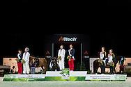Podium  - Individuals Men Final Vaulting - Alltech FEI World Equestrian Games&trade; 2014 - Normandy, France.<br /> &copy; Hippo Foto Team - Jon Stroud<br /> 05/09/2014