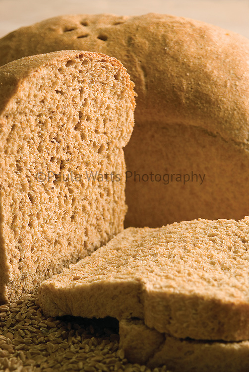 Whole grain loaf of bread