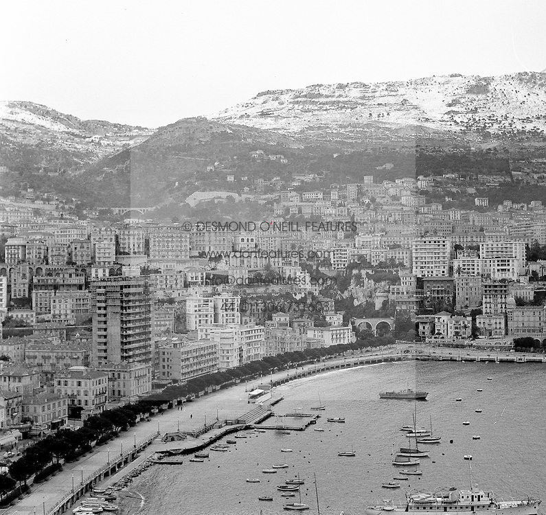 Harbour Front at Monaco in February 1956.