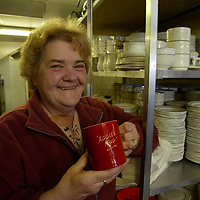 St Johnstone tea lady Aggie Moffat, famous for her falling out with Graeme Souness years ago, who is going to Celtic Park tommorrow hoping Celtic will give a hiding to Blackburn<br />