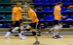 25-04-2013 VOLLEYBAL: TRAINING NEDERLANDS MANNEN VOLLEYBALTEAM: ROTTERDAM<br /> Selectie Oranje mannen seizoen 2013-2014 / Robin Overbeeke<br /> &copy;2013-FotoHoogendoorn.nl