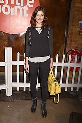 Amber Anderson at the Centrepoint Ultimate Pub Quiz, Village Underground, 54 Holywell Lane<br /> London England. 7 February 2017.