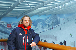 ParalympicsGB snowboarder James Barnes-Miller during the ParalympicsGB 2018 Winter Olympics Alpine Skiing and Snowboard team announcement, at The Snowcentre, Hemel Hempstead.