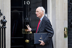 © Licensed to London News Pictures. 07/01/2013. London, UK. The Chief Whip Sir George Young is seen on Downing Street in London today (07/01/13) before the first cabinet meeting of 2013. Photo credit: Matt Cetti-Roberts/LNP
