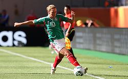 27.06.2011, Arena im Allerpark Wolfsburg , Wolfsburg ,  GER, FIFA Women Worldcup 2011, Gruppe B ,   Mexico (MEX) vs. England (ENG). im Bild Dinora Garza  (MEX)  during the FIFA Women Worldcup 2011, Pool B, Mexico vs England on 2011/06/26, Arena im Allerpark , Wolfsburg, Germany.  .EXPA Pictures © 2011, PhotoCredit: EXPA/ nph/  Hessland       ****** out of GER / SWE / CRO  / BEL ******