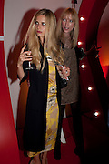 LAURA BAILEY; JADE PARFITT, Tunnel of Love. Funfair party The Mending Broken Hearts appeal In aid of the British Heart Foundation. Victoria House, Bloomsbury. London. 17 May 2011. <br /> <br />  , -DO NOT ARCHIVE-© Copyright Photograph by Dafydd Jones. 248 Clapham Rd. London SW9 0PZ. Tel 0207 820 0771. www.dafjones.com.