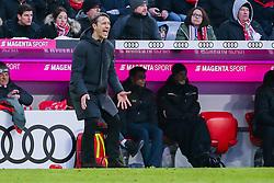 23.02.2019, Allianz Arena, Muenchen, GER, 1. FBL, FC Bayern Muenchen vs Hertha BSC, 23. Runde, im Bild Trainer Niko Kovac (FC Bayern Muenchen) gestikuliert, aergerlich // during the German Bundesliga 23th round match between FC Bayern Muenchen and Hertha BSC at the Allianz Arena in Muenchen, Germany on 2019/02/23. EXPA Pictures &copy; 2019, PhotoCredit: EXPA/ Eibner-Pressefoto/ Tom Weller<br /> <br /> *****ATTENTION - OUT of GER*****