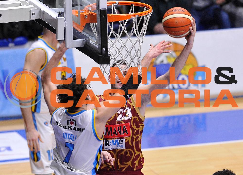 DESCRIZIONE : Beko Legabasket Serie A 2015- 2016 Vanoli Cremona - Umana Reyer Venezia<br /> GIOCATORE : Boris Sakovic<br /> CATEGORIA : tiro penetrazione<br /> SQUADRA : Umana Reyer Venezia<br /> EVENTO : Beko Legabasket Serie A 2015-2016<br /> GARA : Vanoli Cremona - Umana Reyer Venezia<br /> DATA : 07/02/2016<br /> SPORT : Pallacanestro <br /> AUTORE : Agenzia Ciamillo-Castoria/A.Scaroni