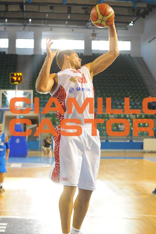 DESCRIZIONE : Cipro European Basketball Tour Italia Russia Italy Russia<br /> GIOCATORE : Monia<br /> CATEGORIA : rimbalzo<br /> SQUADRA : Nazionale Italia Uomini <br /> EVENTO : European Basketball Tour <br /> GARA : Italia Russia <br /> DATA : 06/08/2011 <br /> SPORT : Pallacanestro <br /> AUTORE : Agenzia Ciamillo-Castoria/GiulioCiamillo<br /> Galleria : Fip Nazionali 2011 <br /> Fotonotizia :  Cipro European Basketball Tour Italia Russia Italy Russia<br /> Predefinita :