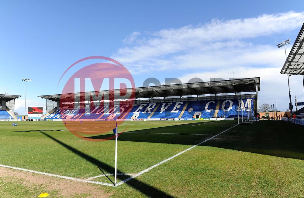 Colchester Community Stadium - Photo mandatory by-line: Dougie Allward/JMP - Mobile: 07966 386802 22/03/2014 - SPORT - FOOTBALL - Colchester - Colchester Community Stadium - Colchester United v Bristol City - Sky Bet League One