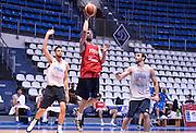DESCRIZIONE : Qualificazioni EuroBasket 2015 - Allenamento <br /> GIOCATORE : Amedeo Della Valle<br /> CATEGORIA : nazionale maschile senior A <br /> GARA : Qualificazioni EuroBasket 2015 - Allenamento<br /> DATA : 12/08/2014 <br /> AUTORE : Agenzia Ciamillo-Castoria