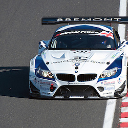 Ecurie Ecosse, Marco Attard & Oliver Bryant, BMW Z4 GT3, GT3 during qualifying and practice at the first round of the Avon Tyres British GT Championship held at Oulton Park, Cheshire, UK on the 30th March 2013 WAYNE NEAL | STOCKPIX.EU