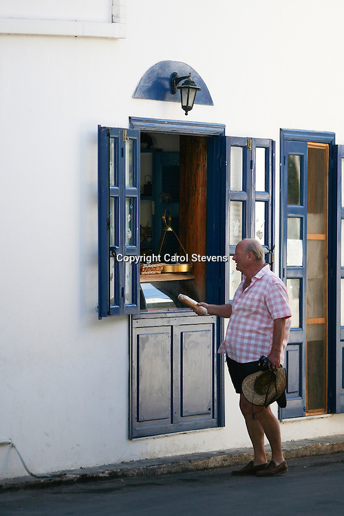 The Pastry Shop at Livadia, Tilos, Dodecanese, Greece