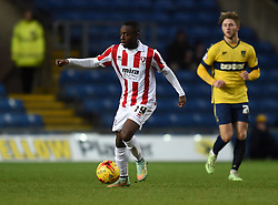 Cheltenham Town's Omari Sterling-James in action against Oxford United - Photo mandatory by-line: Paul Knight/JMP - Mobile: 07966 386802 - 03/01/2015 - SPORT - Football - Oxford - Kassam Stadium - Oxford United v Cheltenham Town - Sky Bet League Two