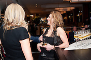 JULIE SULEYMAN; , Fine Wine and Dine in aid of  Sick Children's Trust. Cafe Anglais. London. 1 March 2012