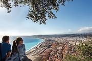 Vue de nice depuis la colline du château // View of Nice from Casle hill