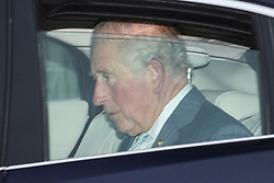 © Licensed to London News Pictures. 18/12/2019. London, UK. PRINCE CHARLES.  Members of the Royal Family seen leaving Buckingham Palace in West London after attending the Queen's annual Christmas lunch. Photo credit: Ben Cawthra/LNP