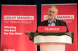 © Licensed to London News Pictures. 24/03/2017. Bristol, UK. JEREMY CORBYN, Labour leader, visits the Greenway Centre in Southmead in support of Lesley Mansell the Labour candidate in the forthcoming West of England Combined Authority mayoral election on 04 May. Photo credit : Simon Chapman/LNP