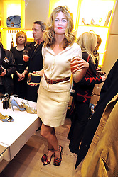 EMMA TWEED at a Champagne & chocolate party hosted by Roger Vivier at their store in Sloane Street, London on 12th February 2009.  The evening was in aid of The Silver Lining charity.