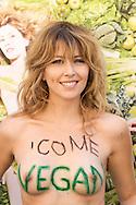 "Roma 2 Luglio  2013<br /> L'Associazione ""Animalisti Italiani Onlus"" lancia la prima campagna vegana in Italia.<br /> Testimonial, l'attrice Vegana Loredana Cannata  in topless<br /> Rome July 2nd 2013  <br /> The Association ""Animalisti Italian Onlus"" launches its first campaign vegan  in Italy .<br /> Testimonial, the actress Vegana, Loredana Cannata  in topless"