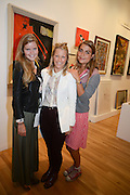 KATIE READMAN; DAVINA HARBORD; ALEXANDRA CASTANO, 20/21 British Art Fair. Celebrating its 25 Anniversary. The Royal College of Art . Kensington Gore. London. 12 September 2012.