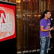 NLD/Amsterdam/20110929 - Presentatie biografie Mies Bouwman, Ali B. en Mies