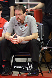 14 November 2016: John Munn completes his 700th game as athletic trainer for the Redbirds  during an NCAA  mens basketball game between the Indiana Purdue Fort Wayne Mastodons the Illinois State Redbirds in Redbird Arena, Normal IL
