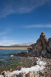 """Tufas at Mono Lake 5"" - These tufas were photographed at the South Tufa area in Mono Lake, California."